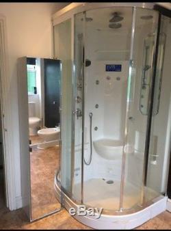 Whirlpool Spa Bath & Sauna style Steam Cubicle & Shower