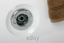 Whirlpool Spa Villa Eugenie II LED 2 Personen XXL alle Düsen LED Licht Ozon Bad