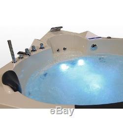 Whirlpool corner bath Hot tub bath Pool Spa Heating Thermostat Acrylic