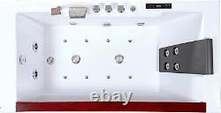Whirpool Bath Tub 180x90 Jacuzzi Jets Hydro Massage Ozone
