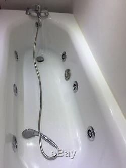 White Jacuzzi Bath