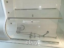 White Jacuzzi Spa Bath Great Condition inc. Motor/plumbing/taps/ wc wb complete
